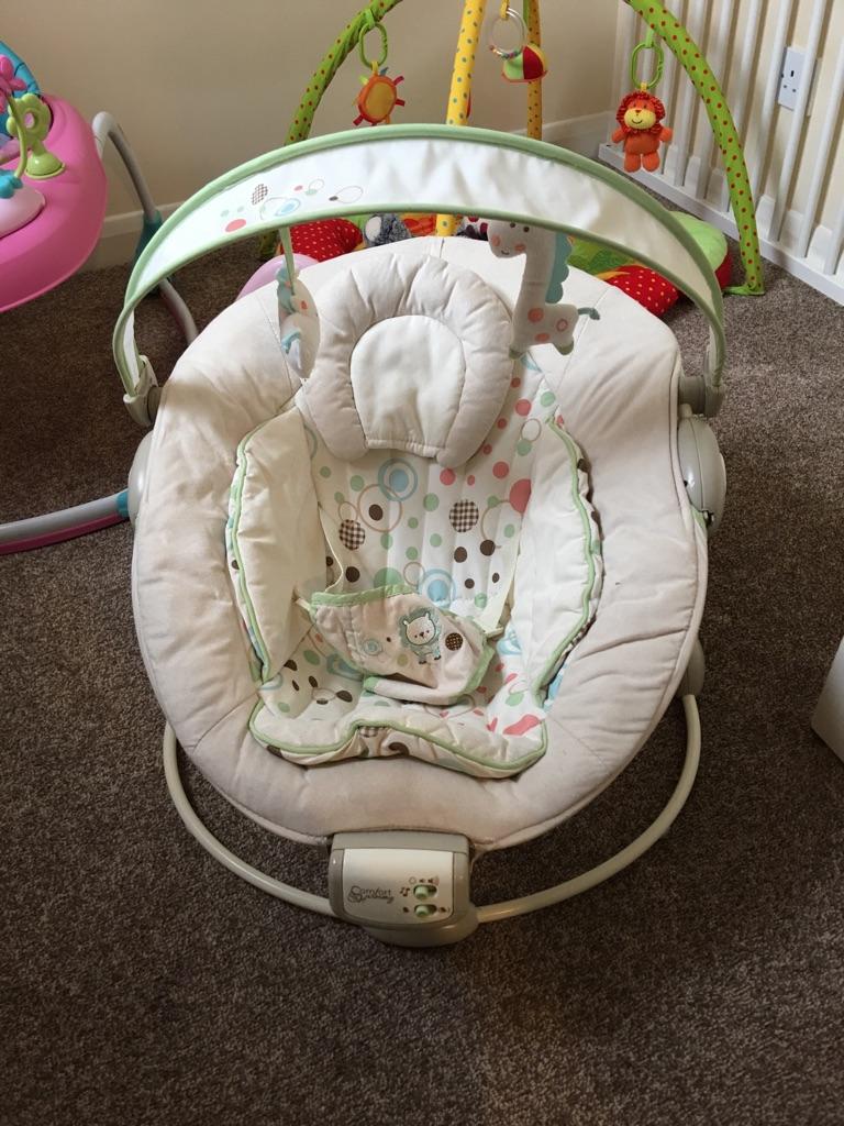 Baby swing-chair