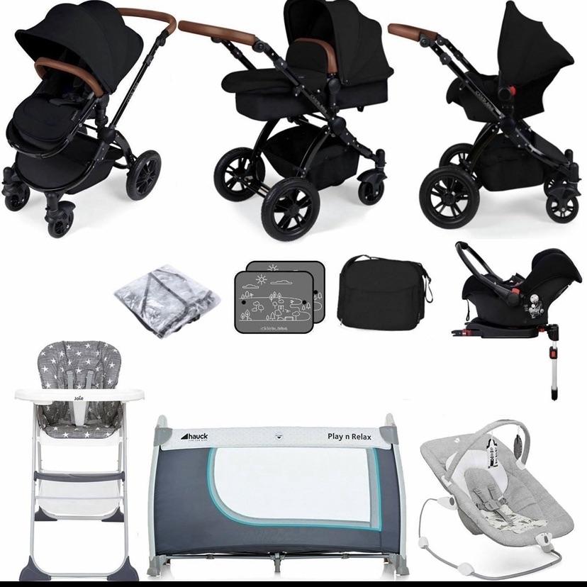 Baby travel bundle