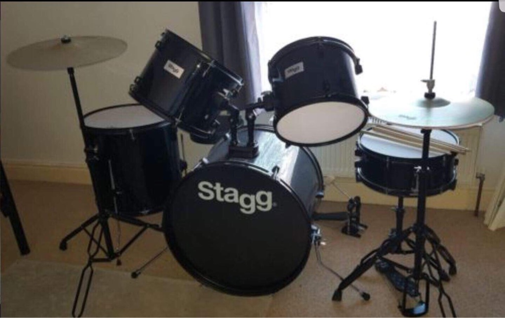 Stagg drumkit hardly used