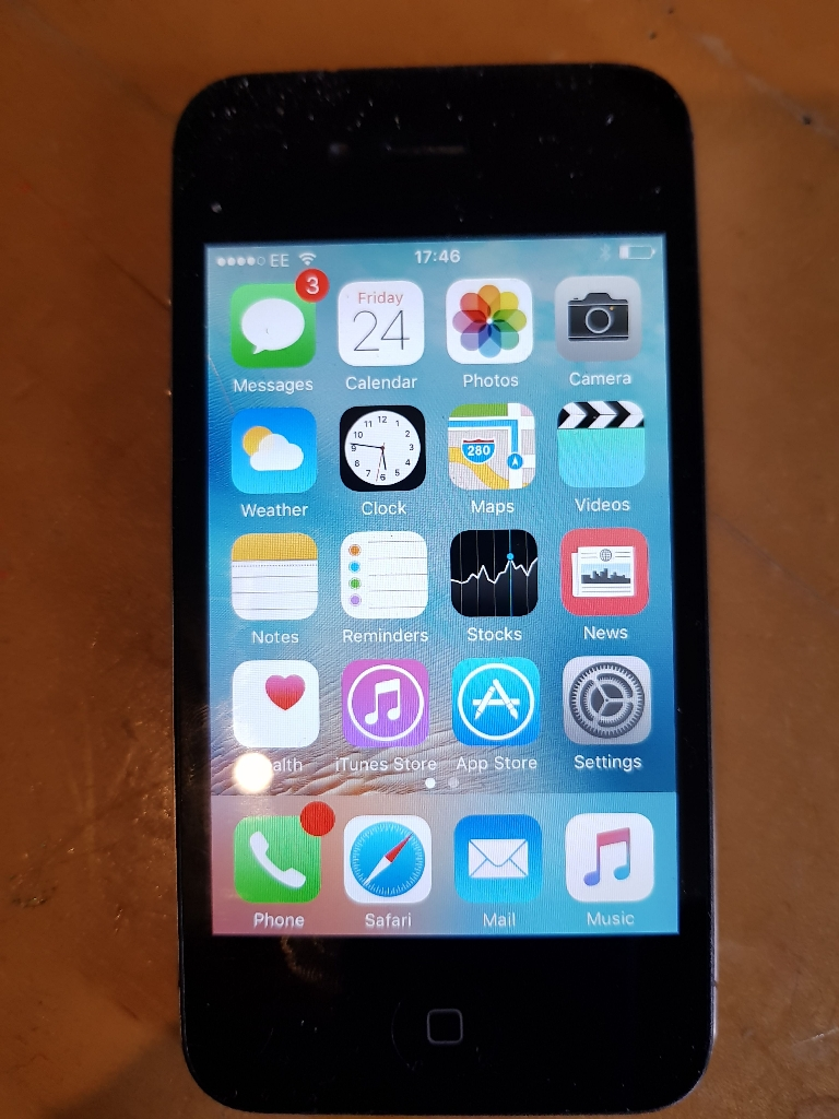 Iphone 4s on EE
