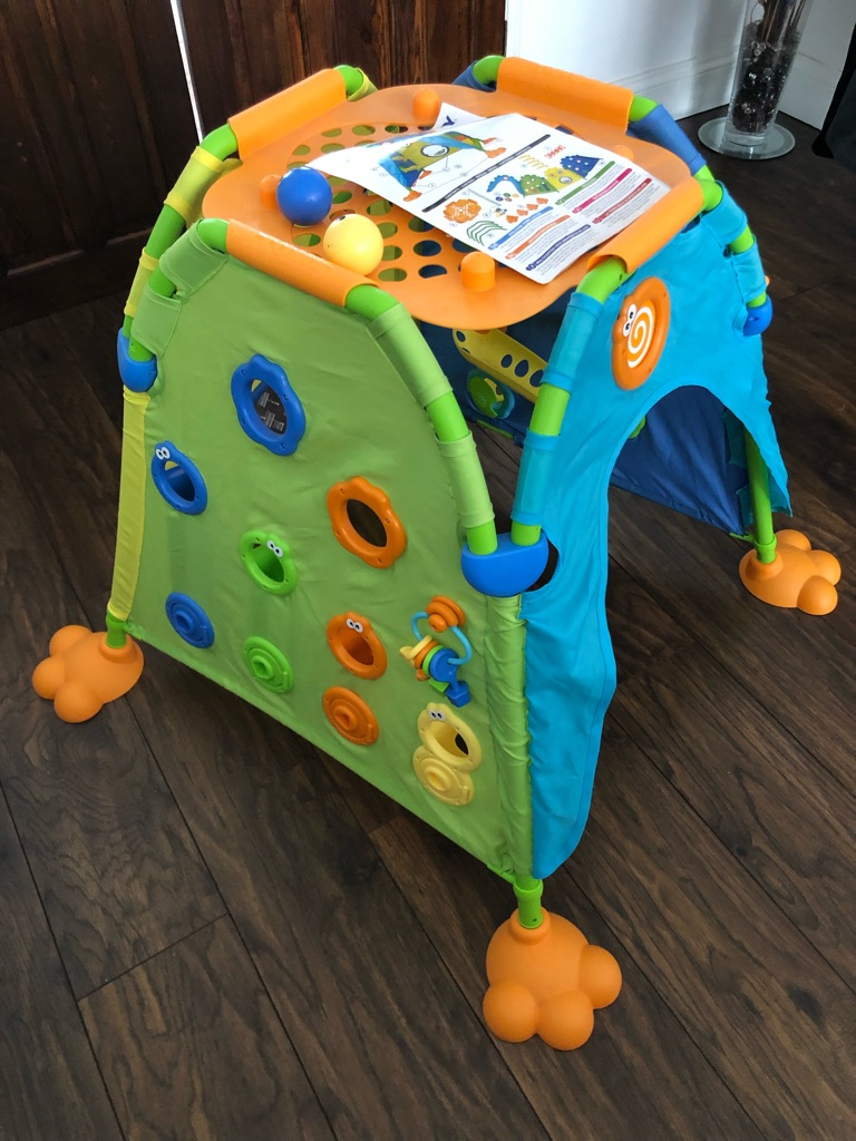 Tommy play to learn discovery deluxe dome