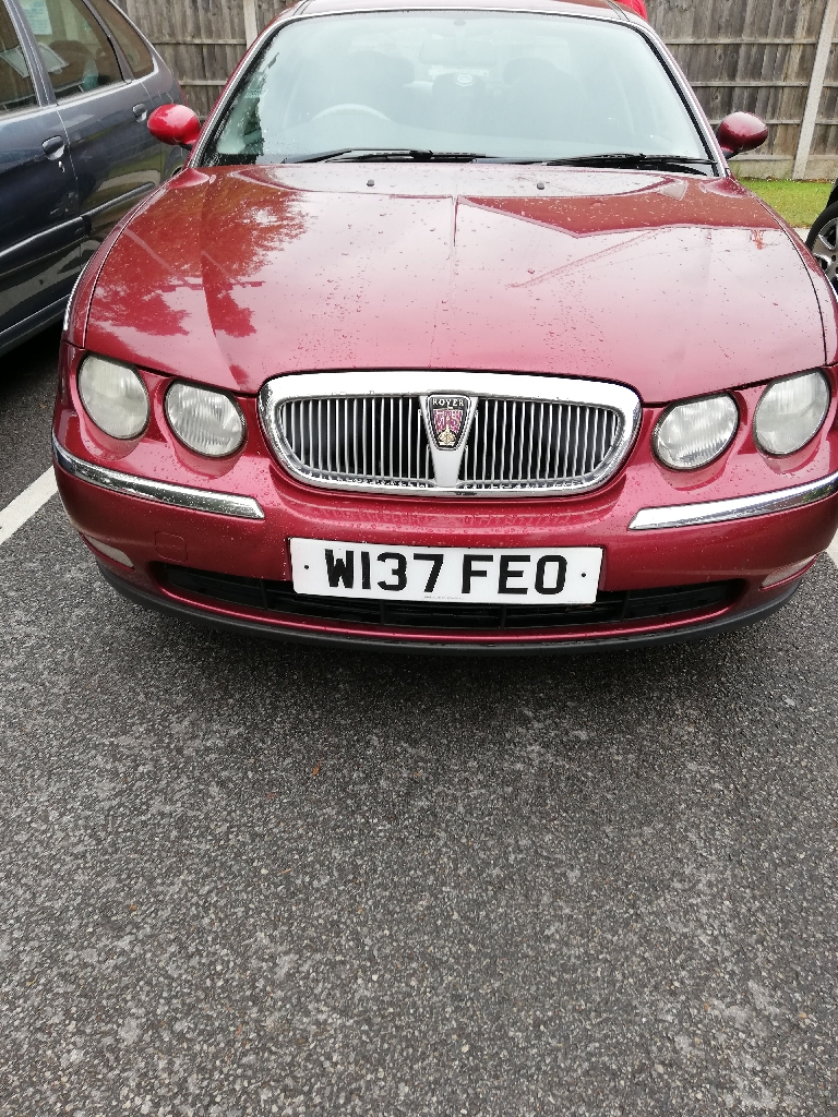 Automatic Rover 75 low milleage with towbar