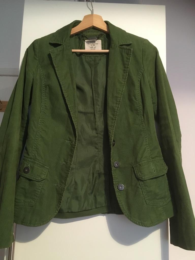Green H&M blazer UK size 4