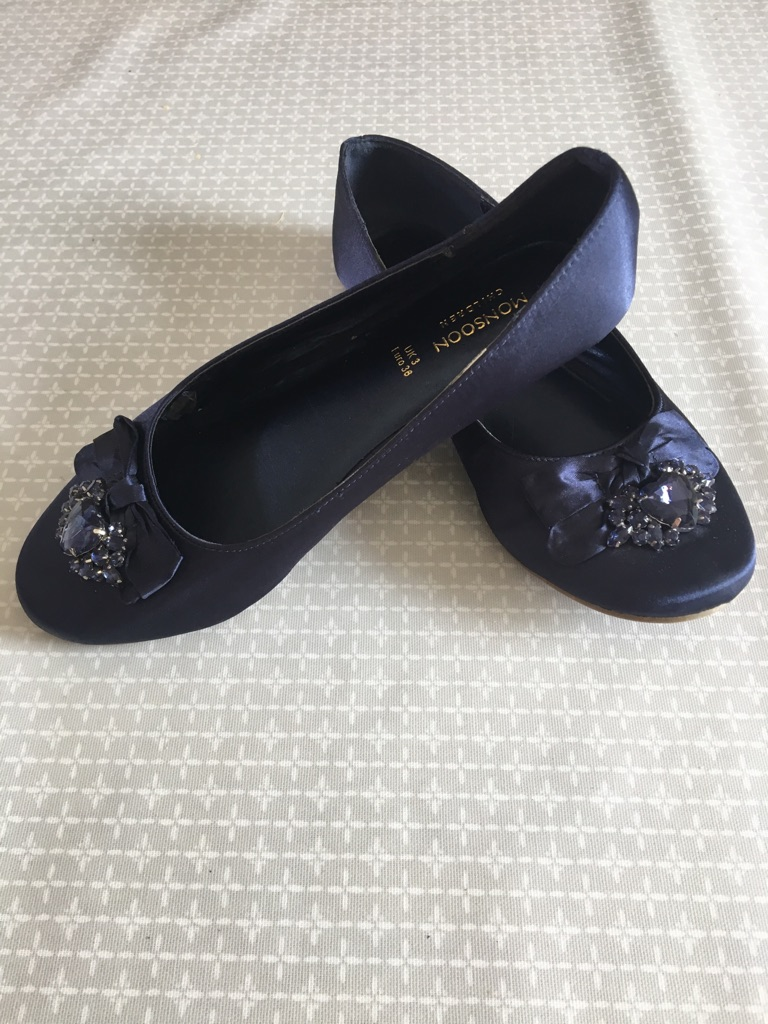 Monsoon girls shoes size 3