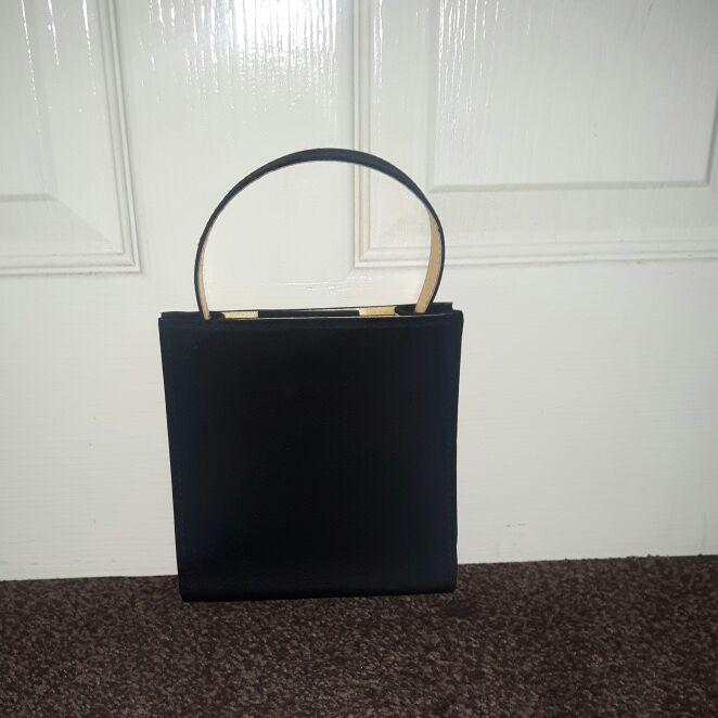 Little black evening bag