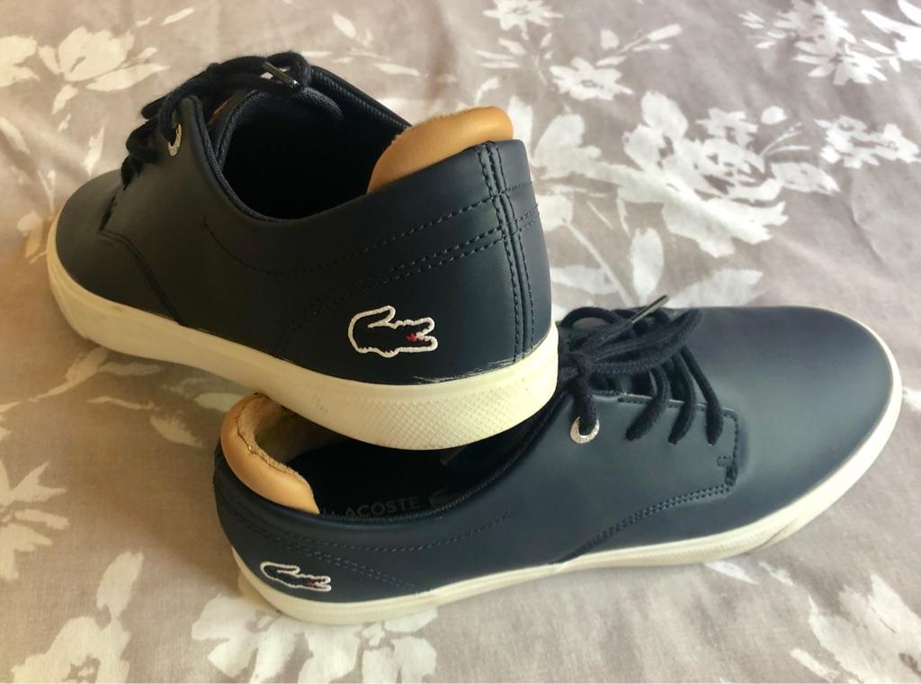 Lacoste Esparre 118 1 Navy Sneakers Shoes
