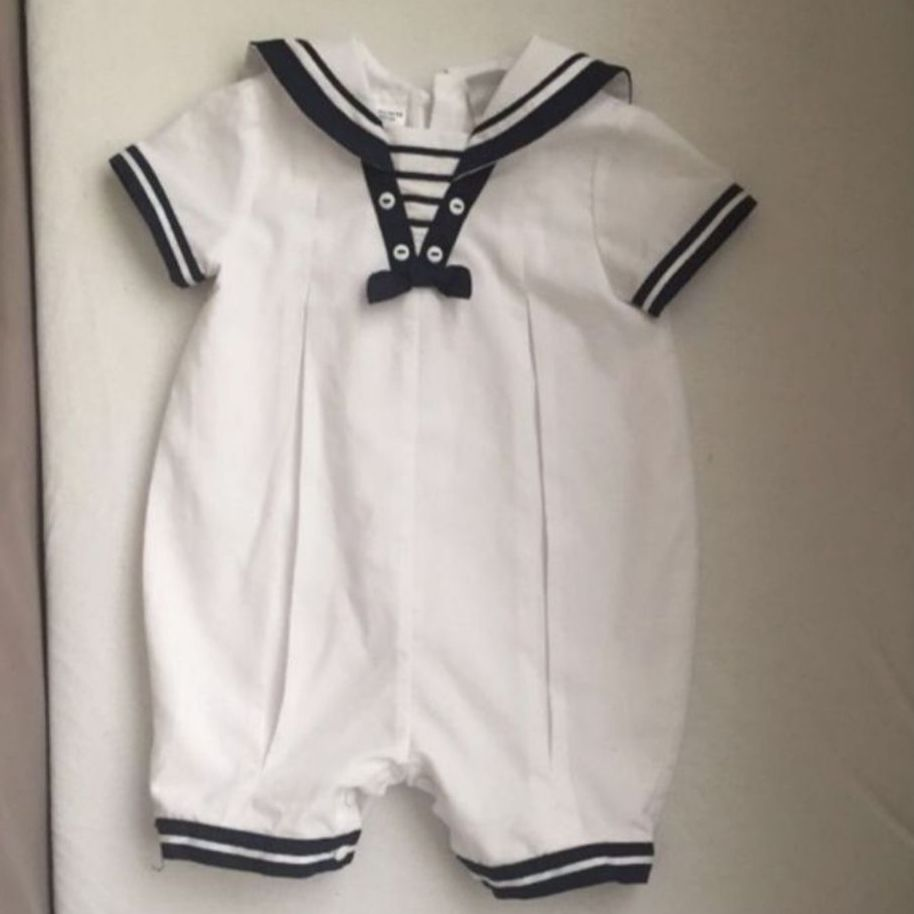 Sarah Louise sailor romper