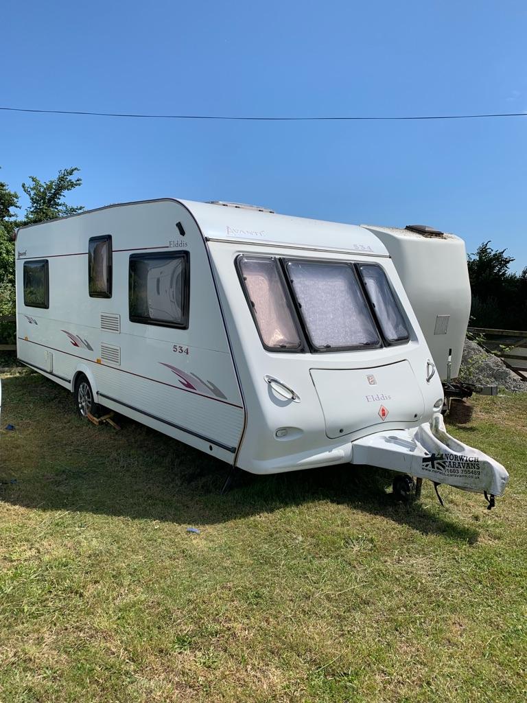 Elddis Avante 534 Touring Caravan