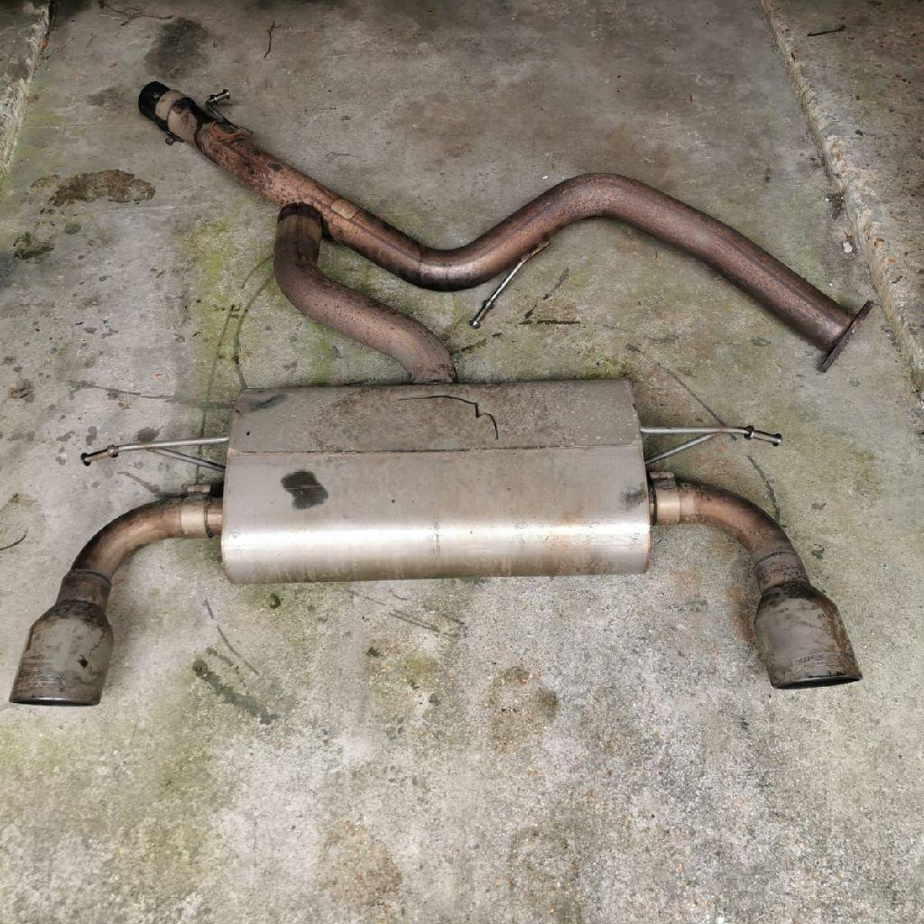 Ford focus st225 milltek resonated exhaust