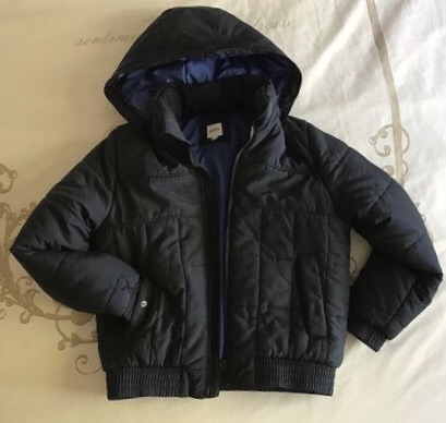 BOSS KIDS Boys Hooded Padded Jacket