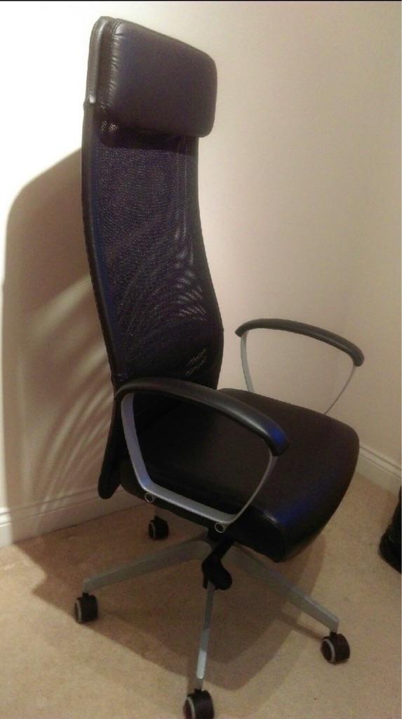 Markus Desk/Office Chair Black Mint Condition