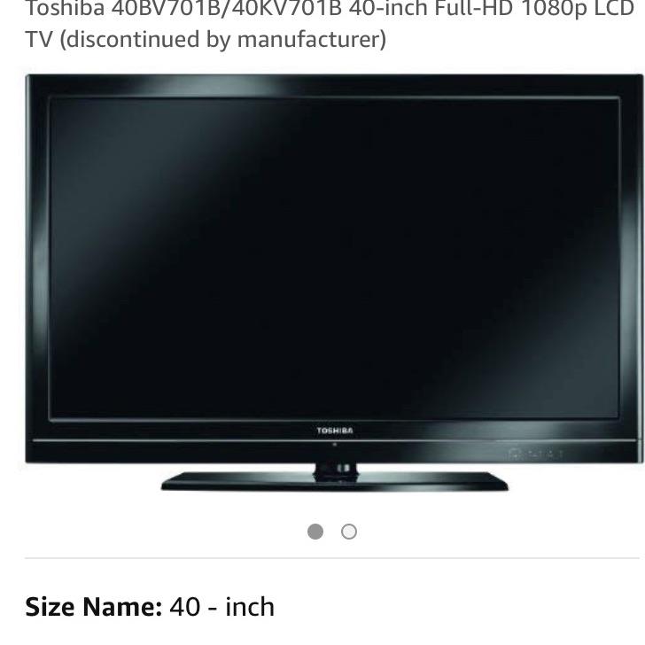 Toshiba TV-40BV701B