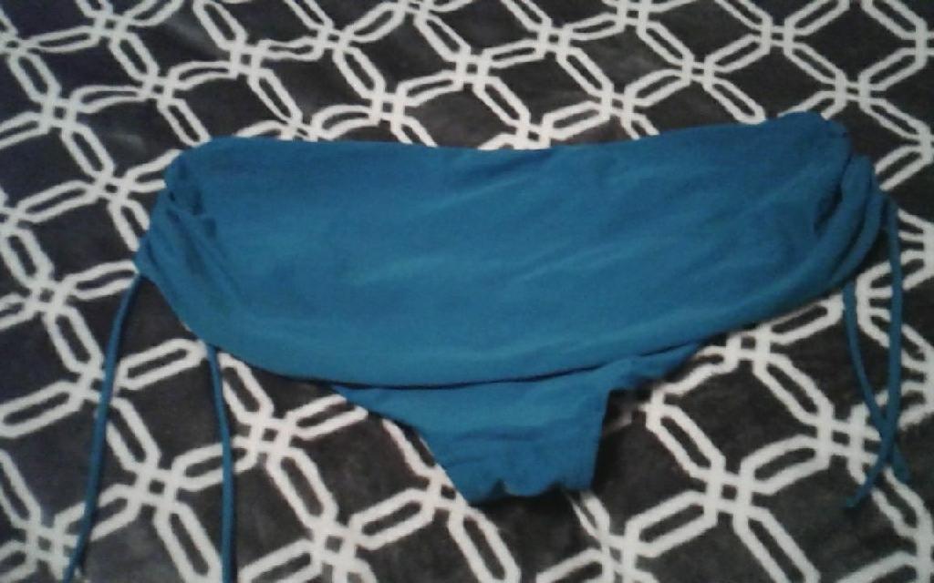 Blue swimming bottoms