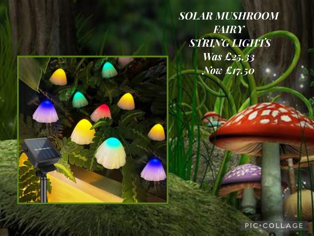 Solar mushrooms