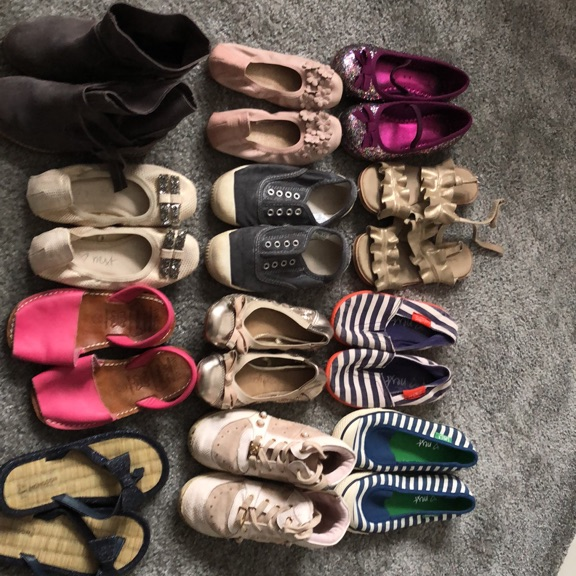 Large bundle of girls shoes/boots/sandals sizes 9-11