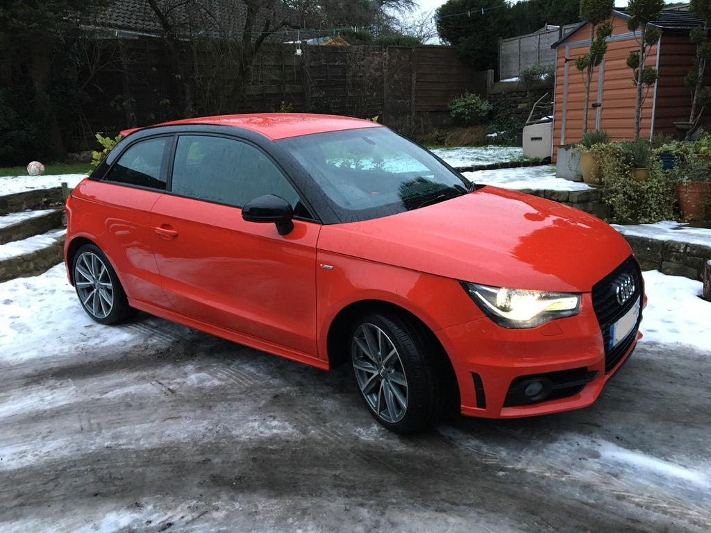 Audi A1 S line Style Edition 1.4 TFSI 2014, SAT NAV, low mileage and loads of extras
