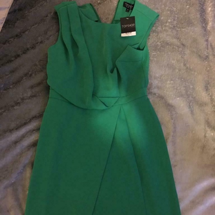 Brand new never worn tags Topshop dress