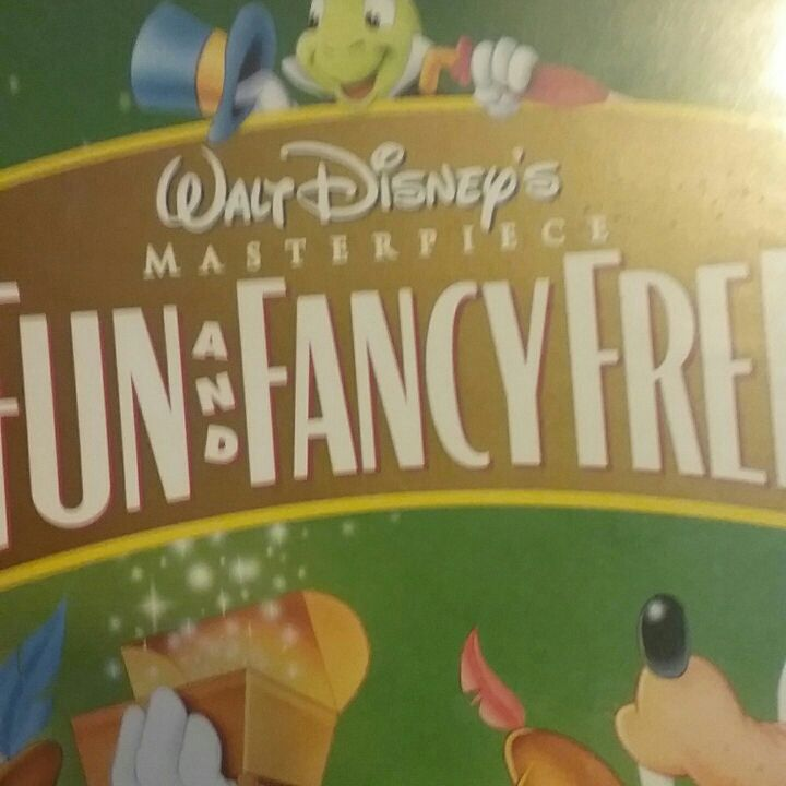 Fun fancy and free 50th anniversary vhs masterpiece collection