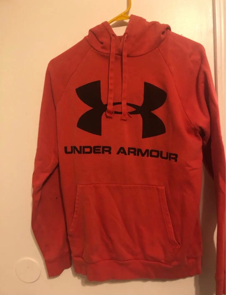 Under armour hoodies all together