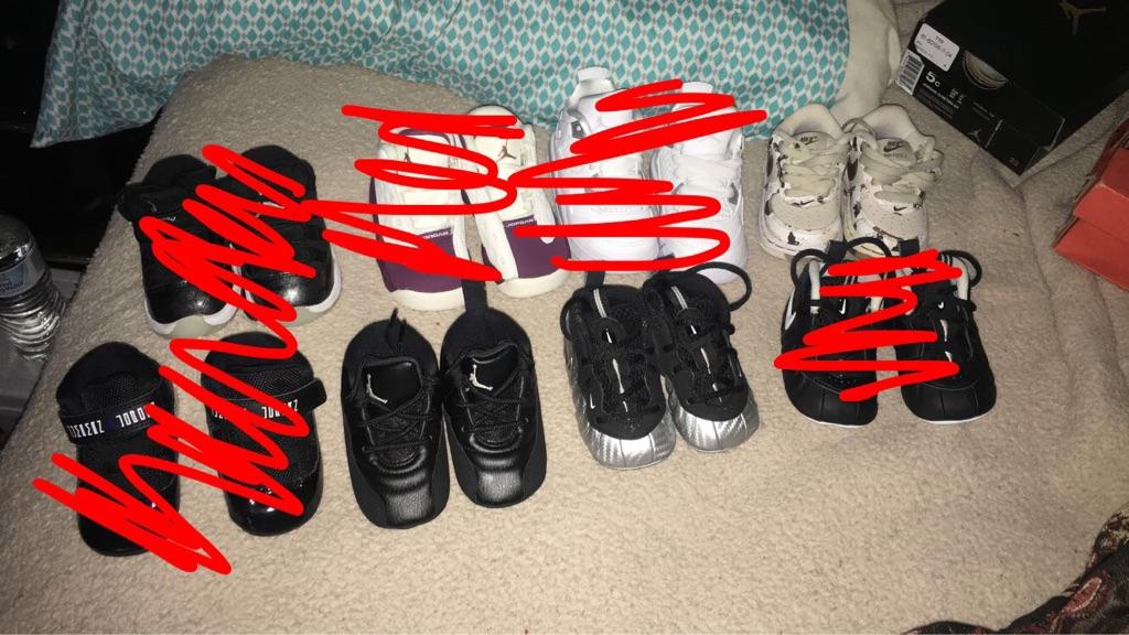 Jordan's foams Nike's