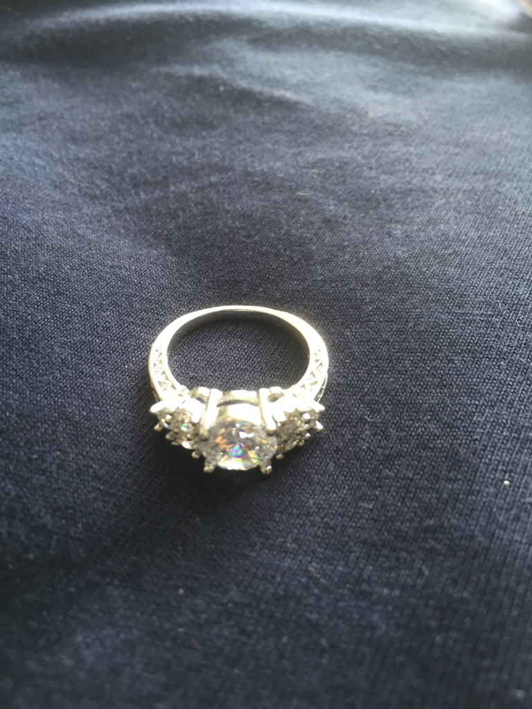 Gemstone ring size M 2 available