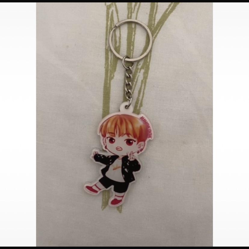 Cute BTS Jungkook key ring