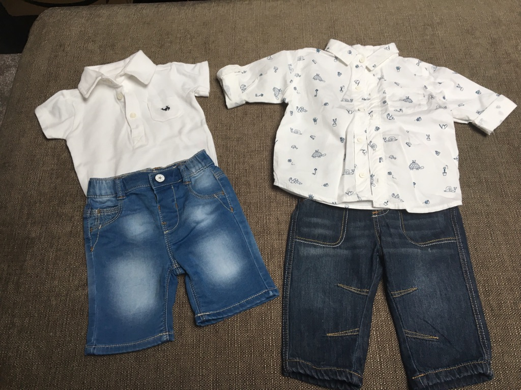 Baby boys 3-6 month outfit bundle
