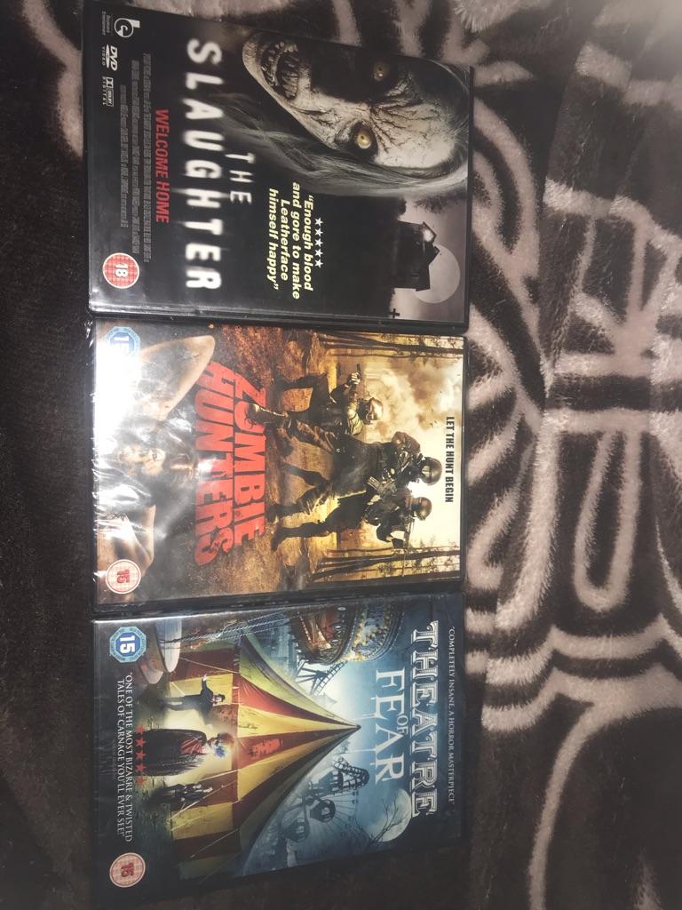 Horror film bundle