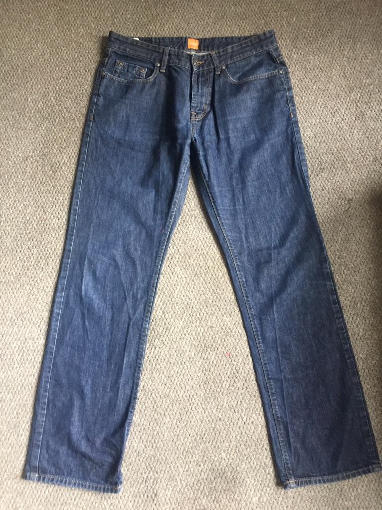 Men's authentic Hugo boss jeans size 34W/32L