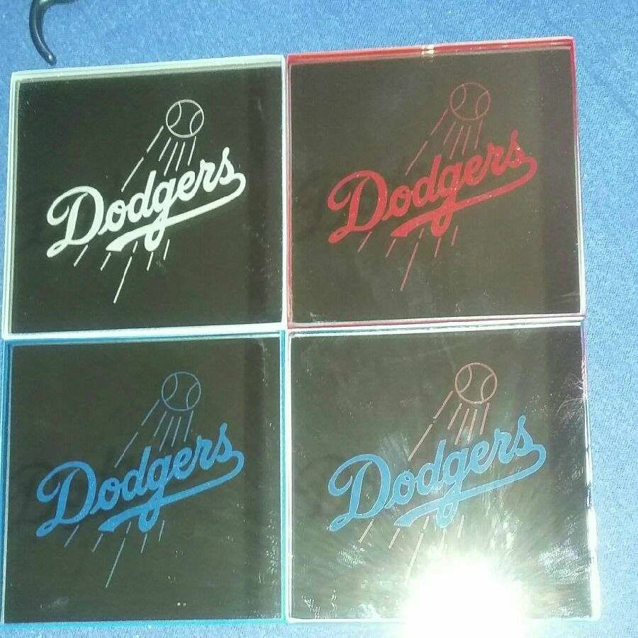 Dodgers coasters