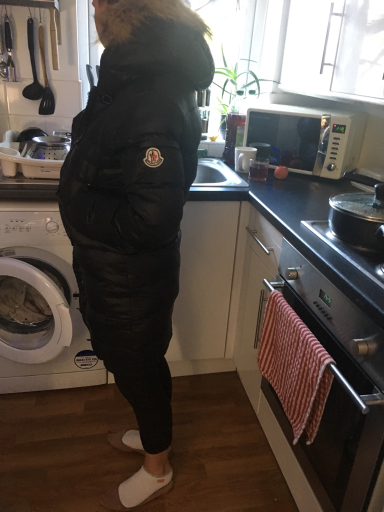 Moncler jacket size 40