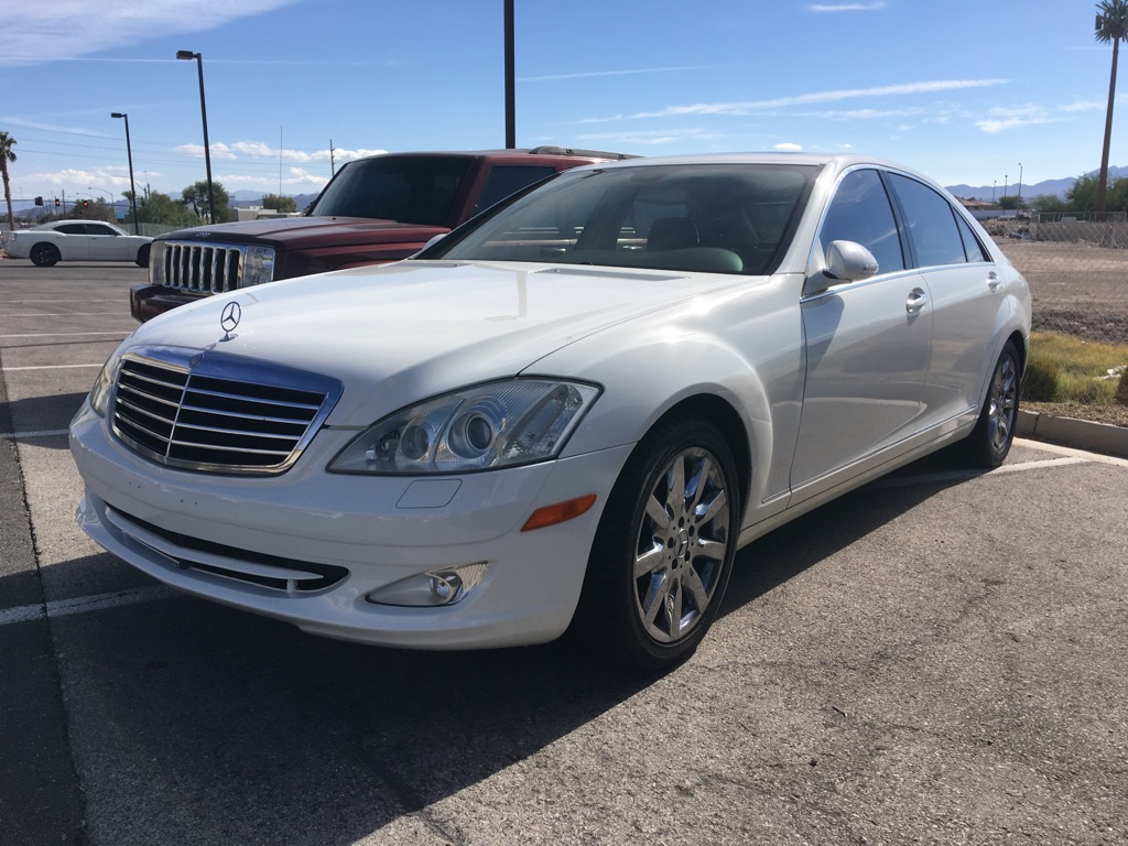2007 s550 with a down payment of $1,500 Mint condition!