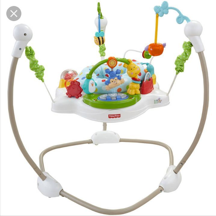 Fisherprice zoo party jumparoo