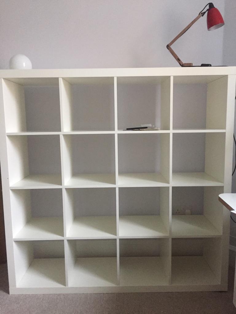 pretty nice 6dc46 ad60f Kallax IKEA storage shelving unit 4 x 4 white