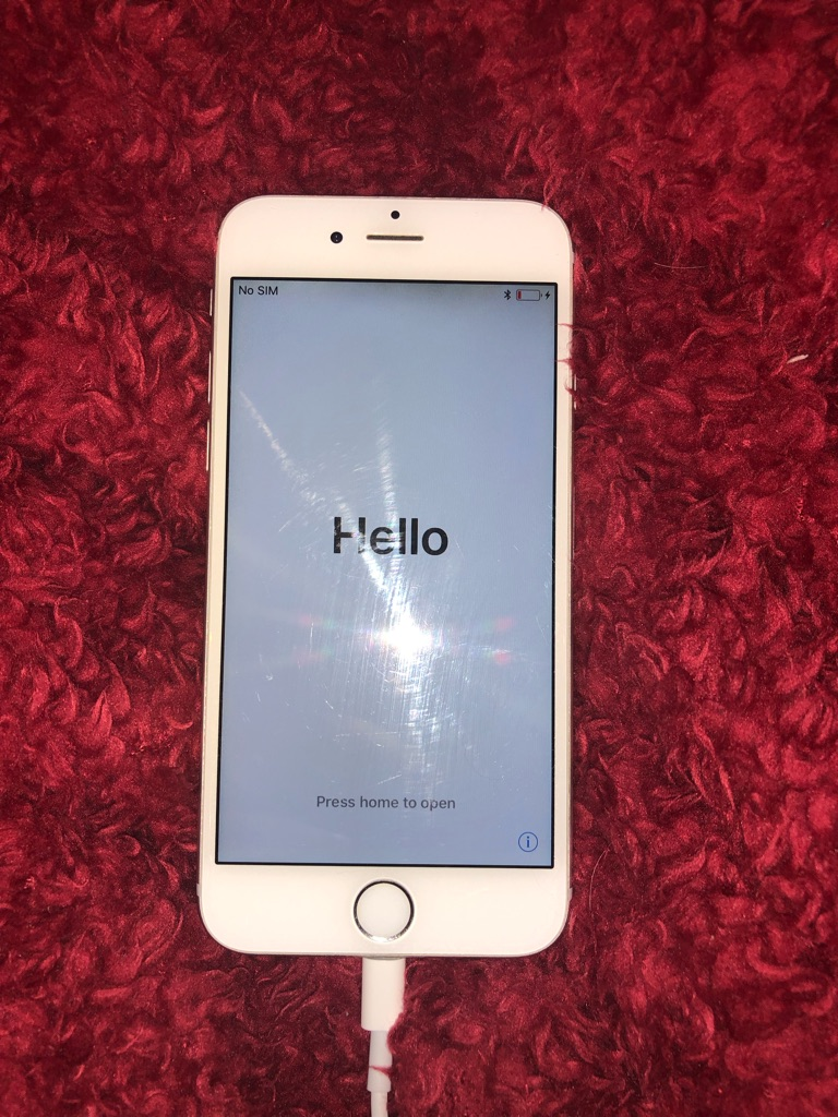 iPhone 6 16GB Silver Great Condition