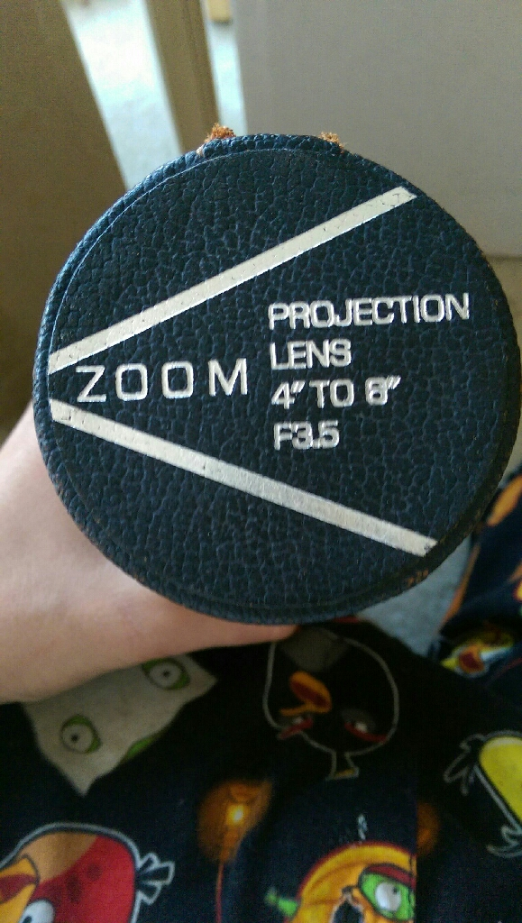 Zoom projection lens