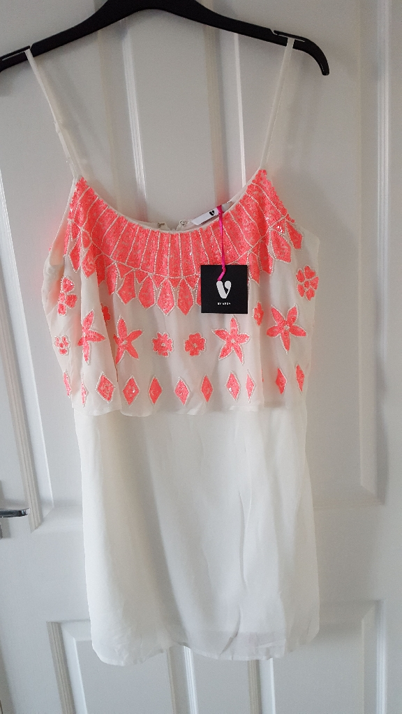 Very cream strappy dress