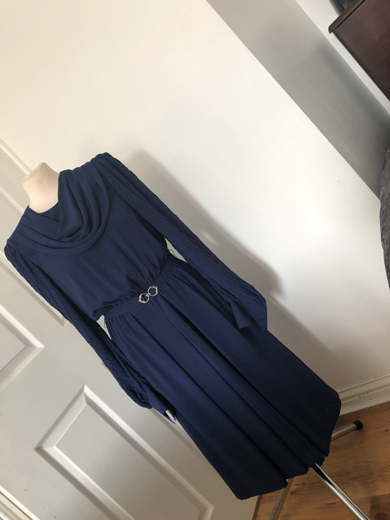 Women's blue vintage dress size 12/14