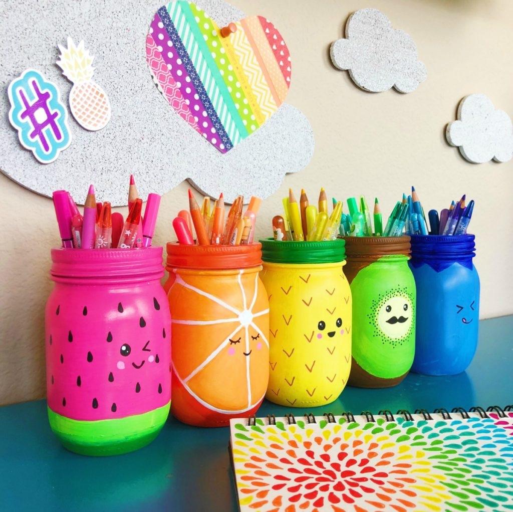 Coloring jars