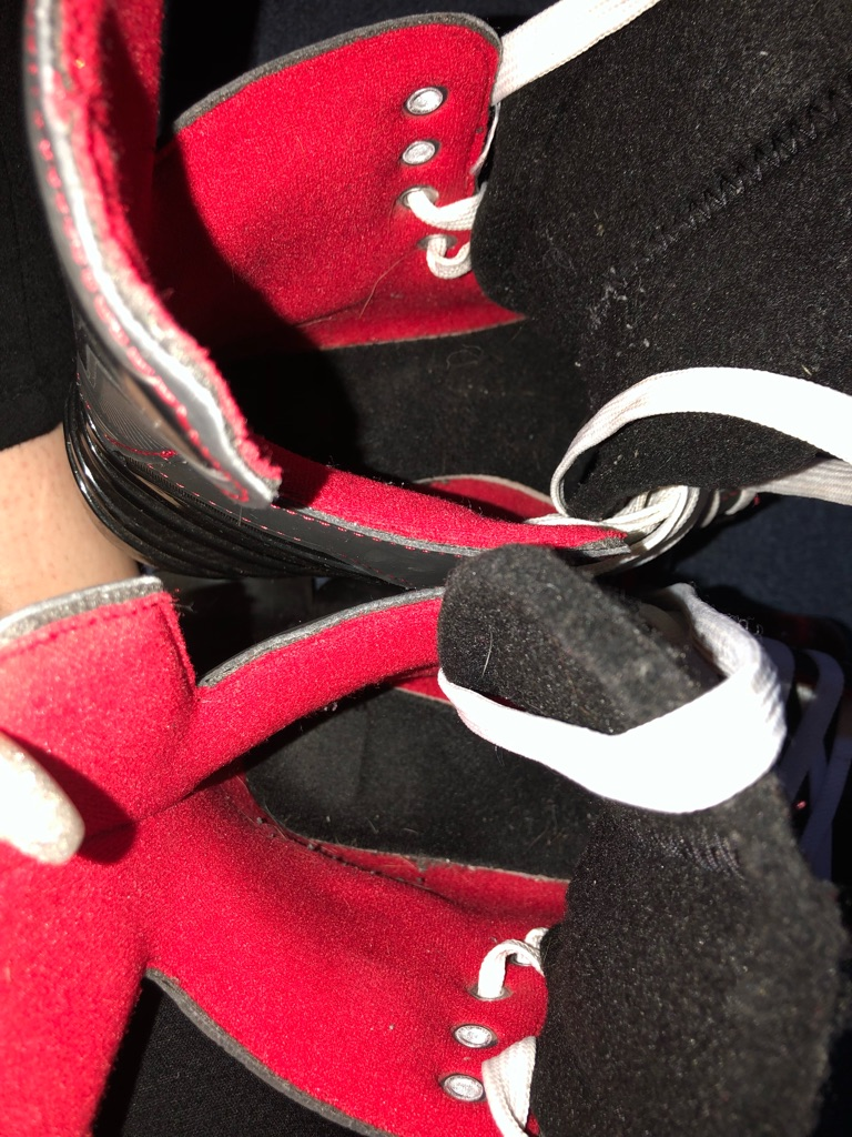 Bauer quad skates