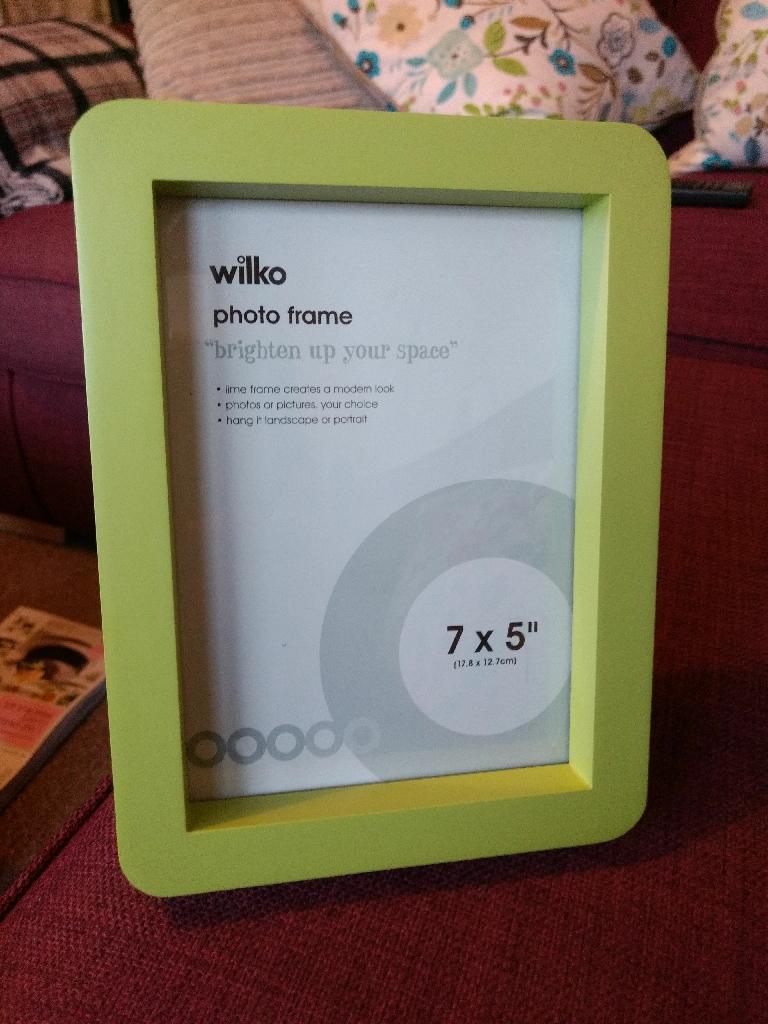 Green photo Frame