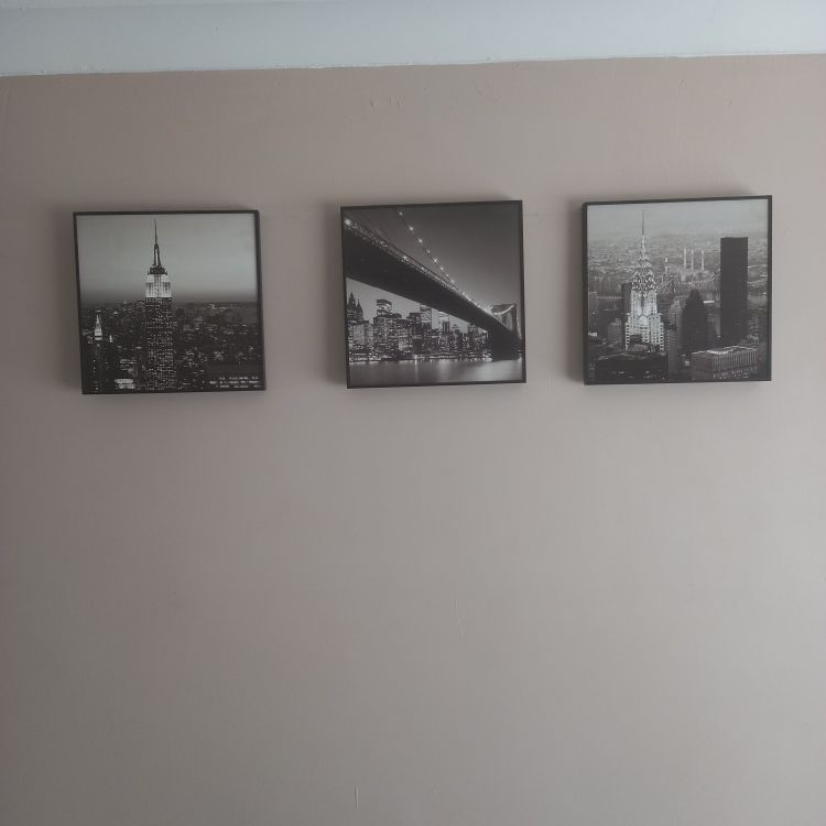 3 x New York skyline pictures