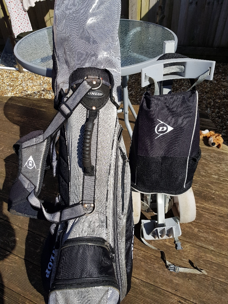 Lynx Golf Clubs, Drivers, Putter and Trolley