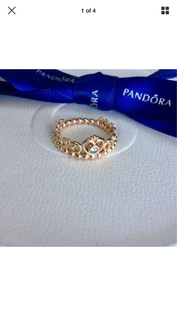 Pandora 2 Rings & 1 Bracelet