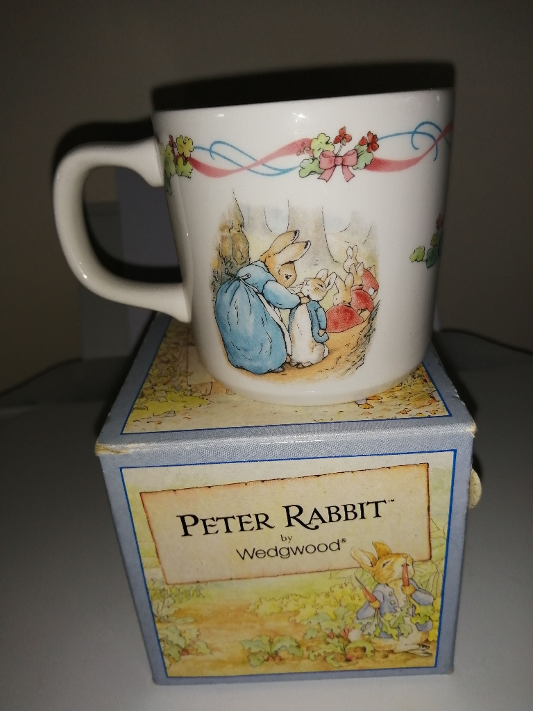Wedgwood - Peter Rabbit - Christening Mug