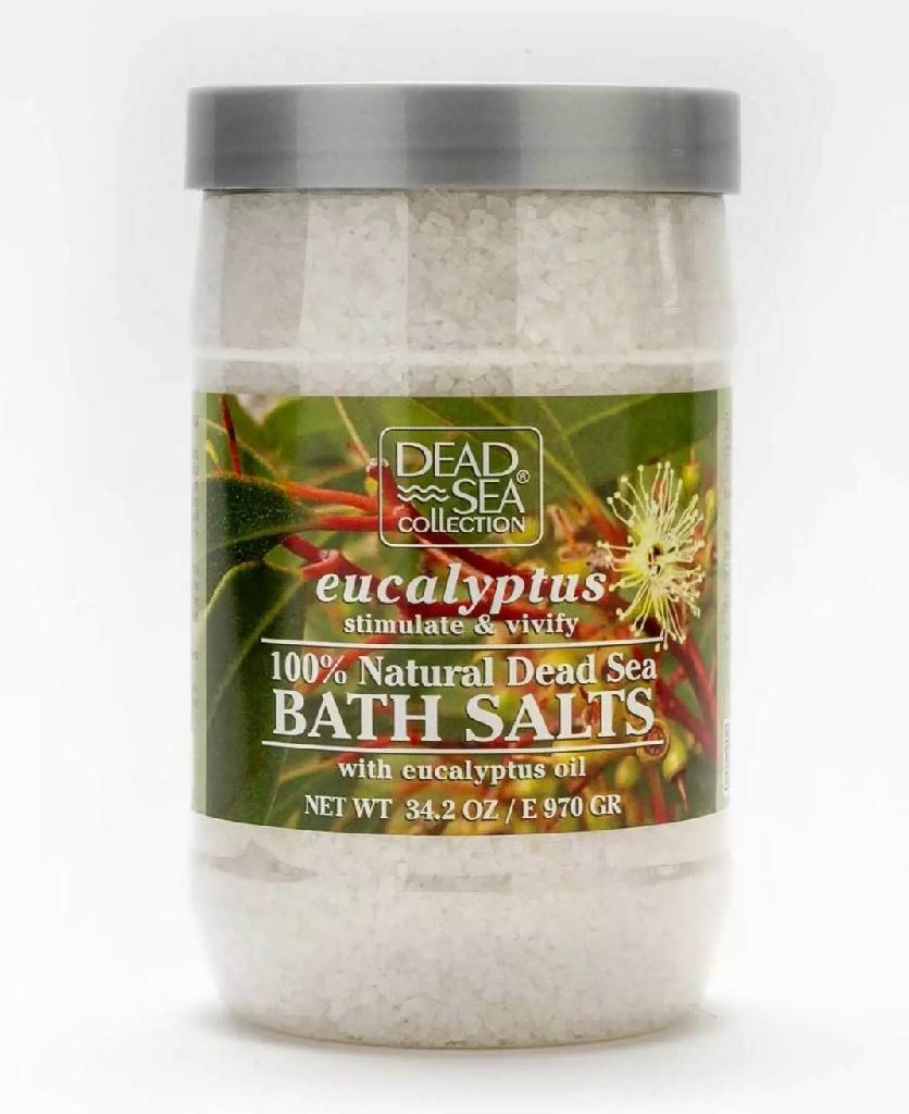 Dead Sea Collection 100% Natural Eucalyptus Bath Salts 34.2 OZ / E 970 GR