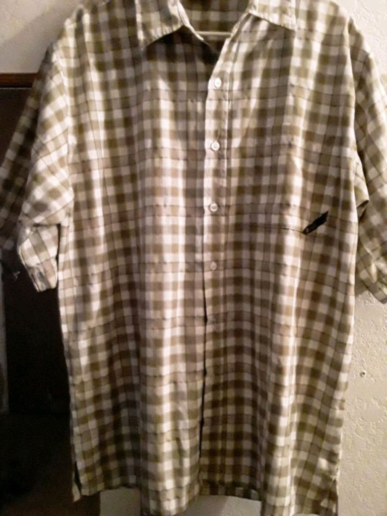 Mens button up over shirts