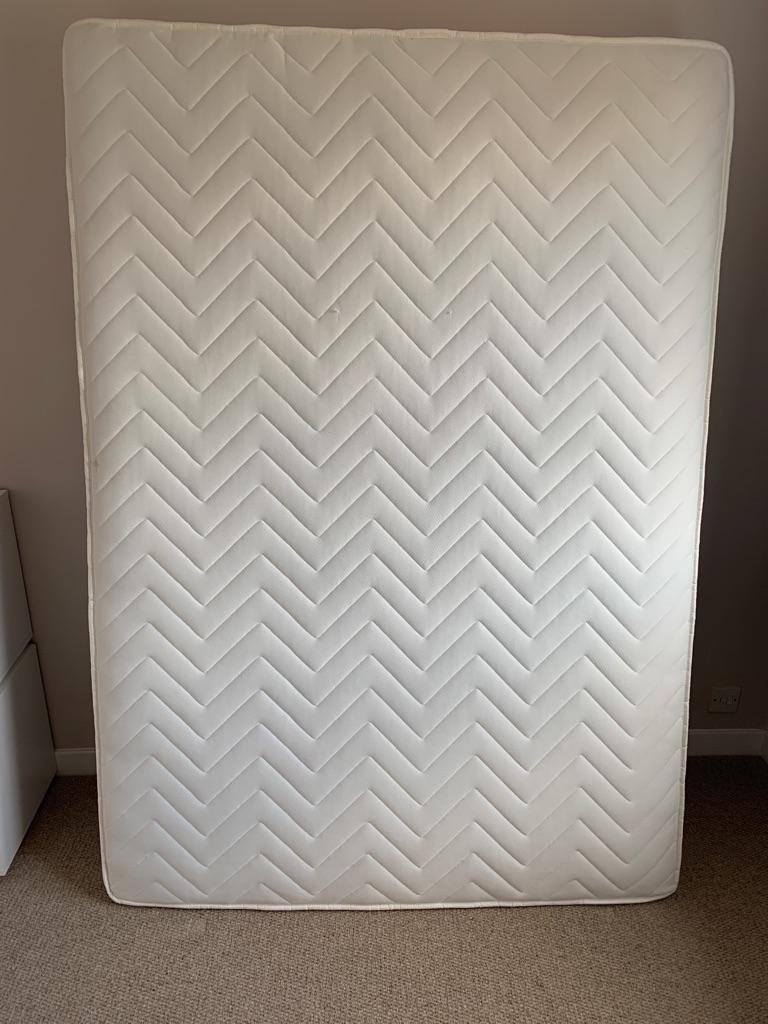 Double mattress £50