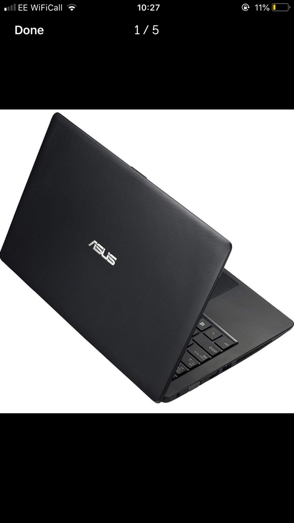 ASUS K200MA touch screen laptop in perfect condition