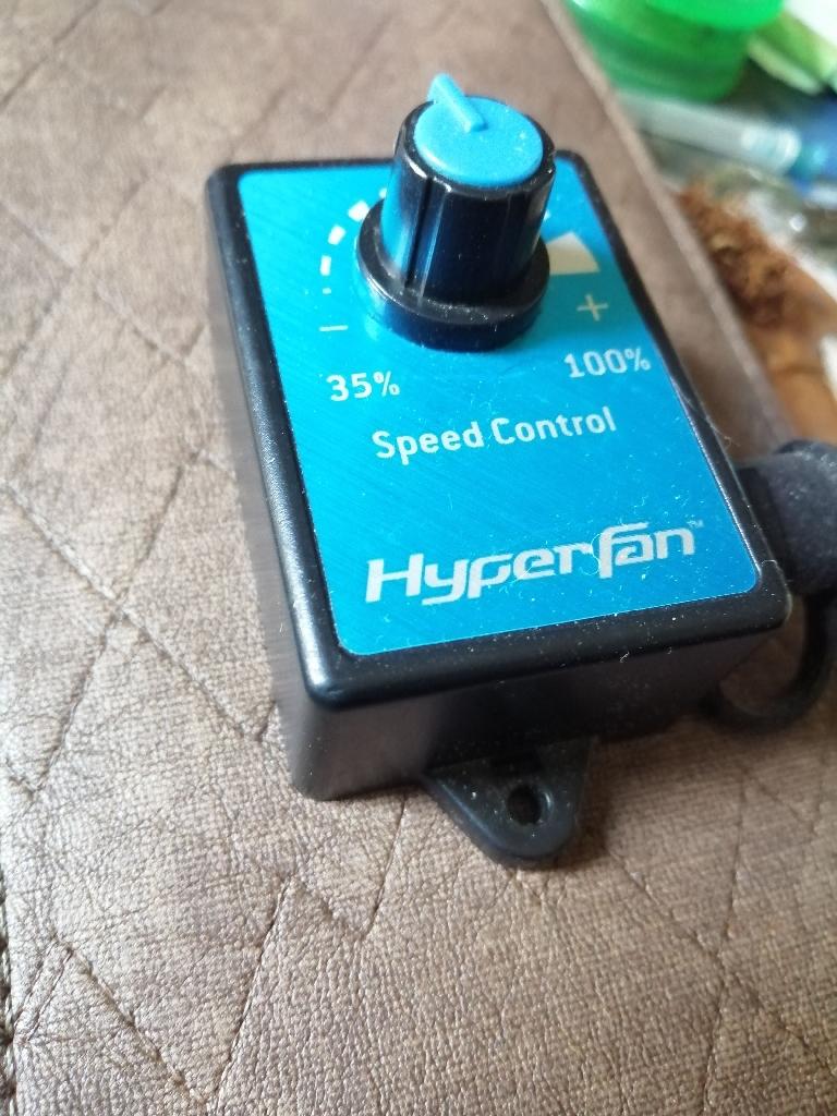 Hyper fan speed control (no fan)